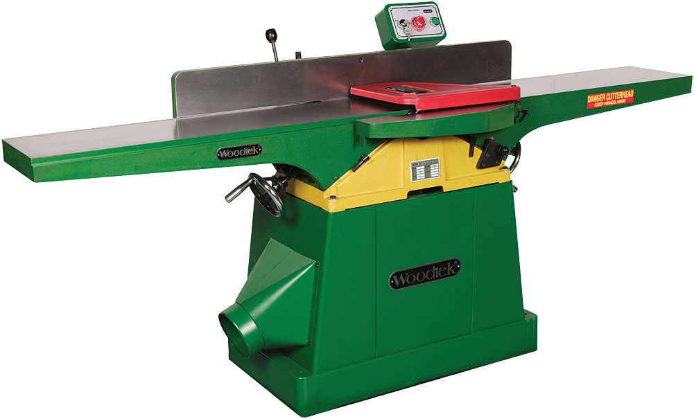 Woodtek 148292, Machinery, Jointers & Planers, 10'' Jointer Straight Knife 2hp 1ph