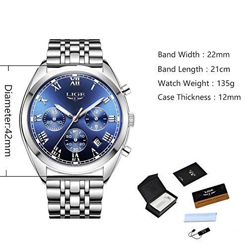 LIGE-Watch-Luminous-Chronograph-Analog-Quartz-watch-Full-Steel-Band-Waterproof-Sport-Dress-Wrist-Watches-Clocks-Silver-Blue-for-Men
