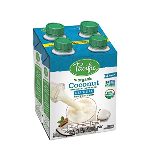 Pacific Foods Organic Unsweetened Coconut Beverage, 8 Ounce