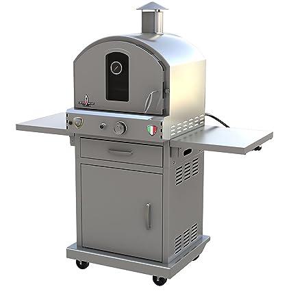 Amazon.com: Lava calor Italia lhi-lapiazza-20btu-ss-ng 20000 ...