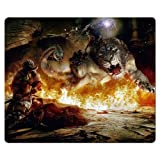 30x25cm 12x10inch gaming mousemats cloth + rubber smooth Perfect Dragon's Dogma