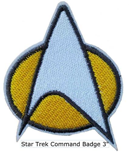 Star Trek TNG Communicator Logo Embroidered PATCH