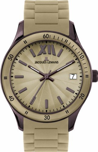 Jacques Lemans Women's 1-1623S Rome Sports Sport Analog with Silicone Strap Watch