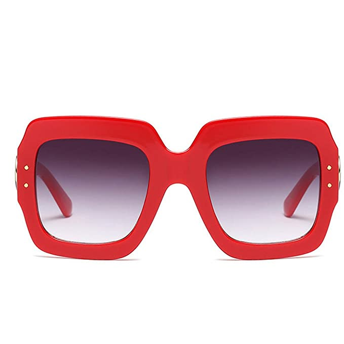 XINTO Gafas de sol de moda color tricolor Gafas de sol de ...