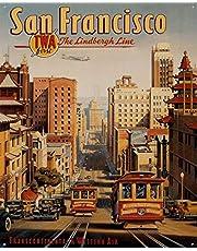 San Francisco Póster De Pared Metal Retro Placa Cartel Cartel De Chapa Vintage Placas Decorativas Poster por Café Bar Garaje Salón Dormitorio
