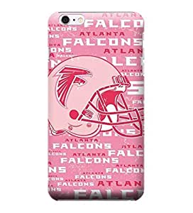 iPhone 6 Cases, NFL - Atlanta Falcons - Blast Pink - iPhone 6 Cases - High Quality PC Case