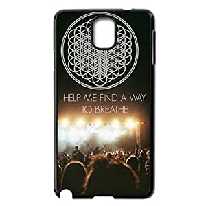 Innovation Design Bring Me The Horizon Hard Shell Phone Case Lightweight Printed Case Cover for Samsung Galaxy Note 3 N9000 Black 022703