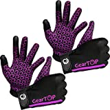 Touch Screen Gloves - Great for Running Rugby Football Walking (Pink