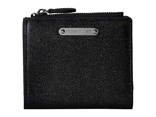 Rebecca Minkoff Women's Bi-Fold Snap Wallet, Black, One (Best Rebecca Minkoff Womens Wallets)