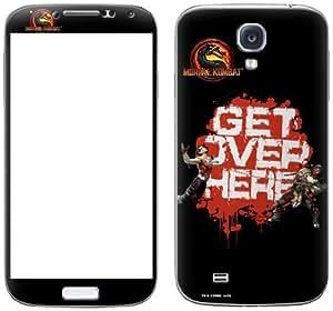 Zing Revolution Mortal Kombat Premium Vinyl Adhesive Skin for Samsung Galaxy S4, Get Over Here (MS-MKBT70456)