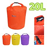 Bazaar 20L Waterproof Bag Storage Dry Sack Pouch For Canoe Floating Boating Kayaking