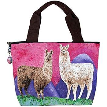 87cfb0fc91ec Amazon.com - MOSDELU Boys Girls No Problem Llama Lunch Bag Insulated ...