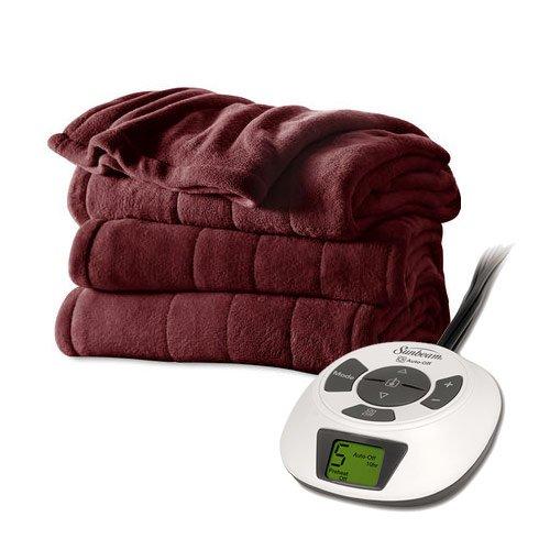 sunbeam electric blanket velvet - 6