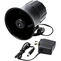 KKmoon Super Power Alarm Siren Horn Outdoor with Bracket for Home House Alarm System Security