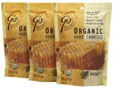 go organic hard candy - Go Naturally Organic Hard Candy Organic Honey Gluten Free Hard Candies, Bags, 3.5 oz, 3 pk