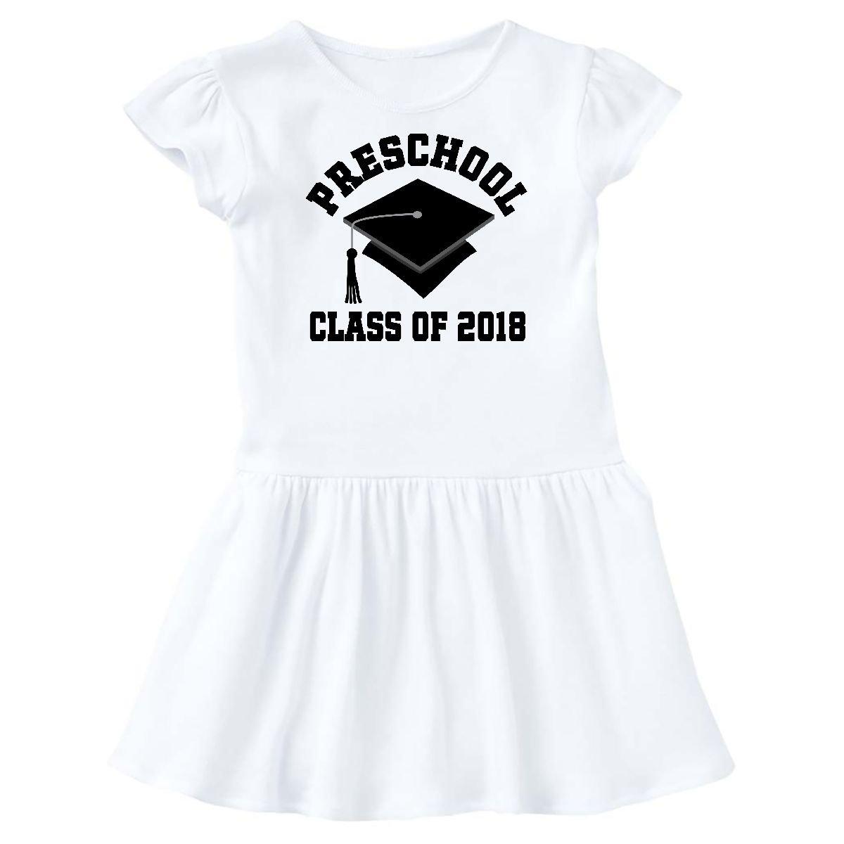 43e444e255 Amazon.com  inktastic - Preschool Class of 2018 Graduation Gift Toddler  Dress  Clothing