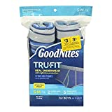 Goodnights Tru Fit Real Underwear with Nighttime Protection for Boys(38-65lb) by GoodNites