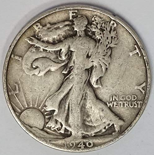 1939 D Walking Liberty Half Dollar 50c Average Circulated