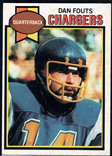 Football NFL 1979 Topps #387 Dan Fouts Chargers