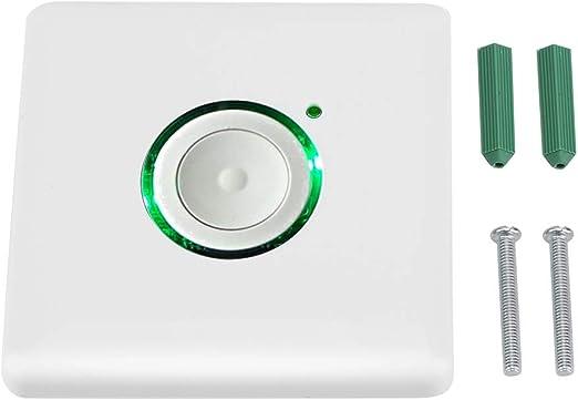 Interruptor de configuración de temporización, luz LED para exteriores Interruptor de temporizador de retardo táctil Configuración de temporización con 16 niveles de configuración de temporización par: Amazon.es: Hogar