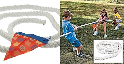 happy deals Tug of War Rope - 11 feet 10 inch size - Yard Game