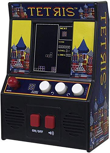 Basic Fun! 09594 Tetris Mini Arcade Game (4C Screen), Multicolor