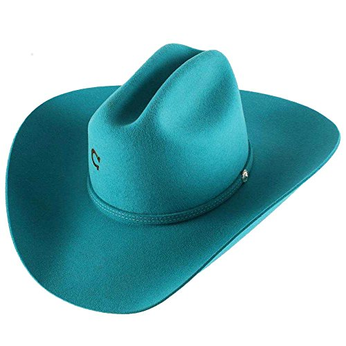 Charlie 1 Horse Turquoise Dime Store Cowgirl Hat by Charlie 1 Horse