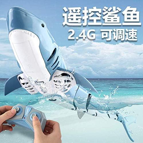 Laelr Mini RC Jouet deau Simul/é Requin Poisson Jouet pour Enfants sous-Marin Requin Nager T/él/écommande Jouet Requin Jeu deau Bateau Jouets Rechargeable /Électronique Bain Jouet Cadeau