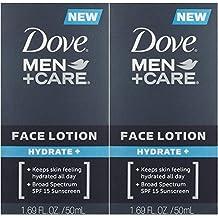 Dove Men + Care Face Lotion Hydrate, 1.69 fl. oz. 2 Count
