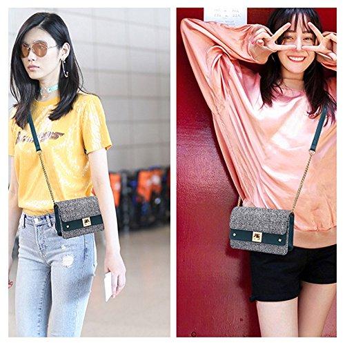 version bag bag wave Messenger wild super the fire mini new bag shoulder Casual Shoulder Messenger Fashion of Handbags ZCM Women's xnRwvw