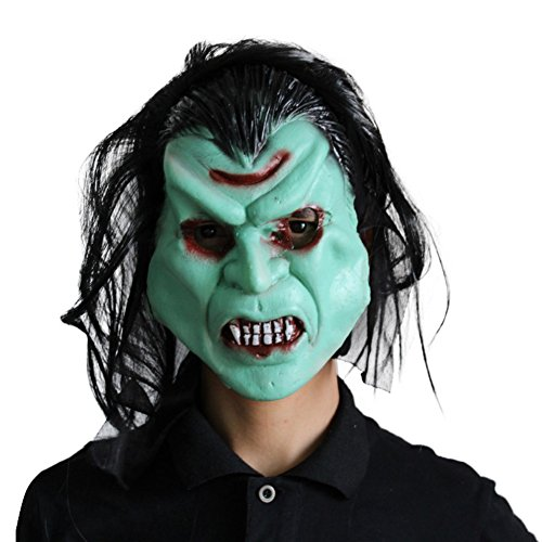 Ancient Roman Theater Costumes (PanDaDa Halloween Mask Pullover Horror Mask Party Goods Cosplay Products Masquerade Mask)