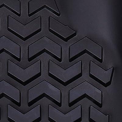 Rugged Ridge 82989.40, All Terrain Floor Liner Kit, Front/Rear, Black, 2002-2014 Dodge Ram 1500 / 2500 / 3500 Quad Cab: Automotive