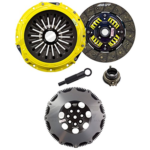 ACT Heavy Duty Street Performance Clutch Kit & Streetlite Flywheel Combo (Mitsubishi Evo 8/9) ME2-HDSS 600205 ()