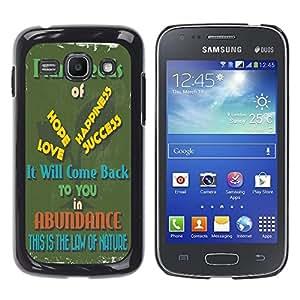 Dragon Case - FOR Samsung Galaxy Ace 3 - it will come back - Caja protectora de pl??stico duro de la cubierta Dise?¡Ào Slim Fit