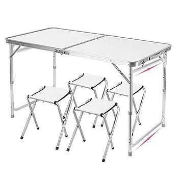 Práctica mesa multifuncional. Leqi Mesa plegable Sillas y mesas ...