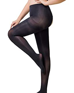 1ee2951ad59 WisLotife Women s Plus Size Sheer Crotchless Pantyhose Seamless Open Crotch  Tights Shiny Silk Stockings