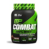 MusclePharm Combat 100% Whey, Muscle-Building Whey Protein Powder, 25 g of Ultra-Premium, Gluten-Free, Low-Fat Blend of Fast-Digesting Whey Protein, Chocolate Milk, 2-Pound, 27 Servings