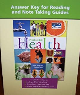 High school health adapted reading workbook 2007c prentice hall answer key for reading and note taking guides prentice hall health fandeluxe Images