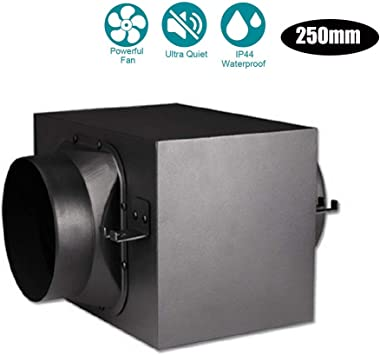 Ventilador Extractor de Aire en Línea con Motor de Dos-velocidades ...