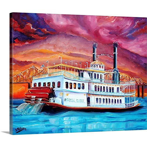 New Orleans' Creole Queen Canvas Wall Art Print, 20