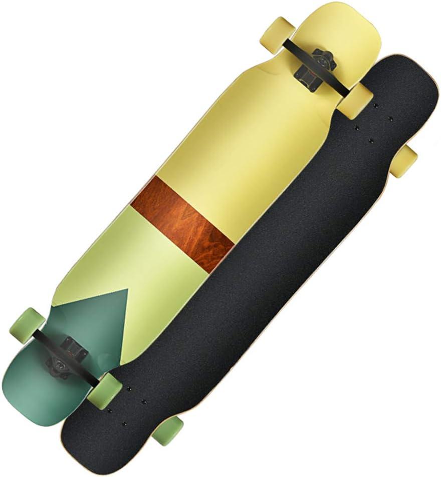 ロングボードスケートボード44インチデッキクルーザープロフェッショナルロングボードを通じて完全なドロップダウン #2
