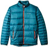 Columbia Men's Big and Frost Fighter Jacket, Blue Heron, Hot Pepper, 3X Tall
