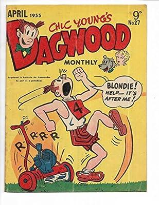 Dagwood #27 1955 Australian Lawn Mower Cover