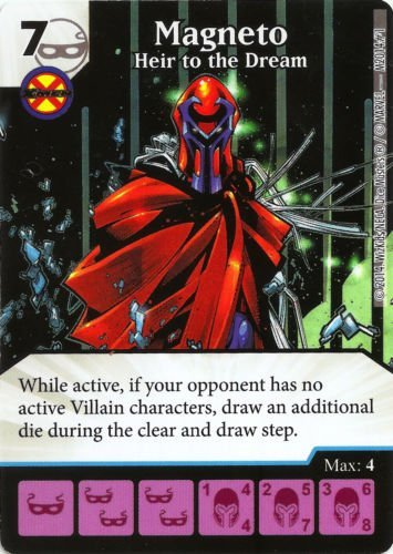 Marvel Dice Masters: Age of Apocalypse Promo Card: Magneto - Heir to the Dream