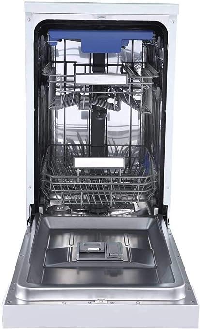 Sauber - Lavavajillas 45 cm SDW455 A++ 10 cubiertos - Blanco - 3 ...
