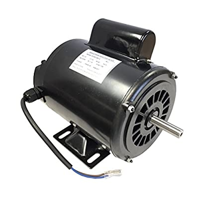 Gestalt 1/3 HP Single Phase Induction Electric Motor 115V 60Hz 1725 RPM