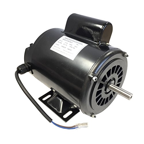 Gestalt 1/3 HP Single Phase Induction Electric Motor 115V 60Hz 1725 RPM ()