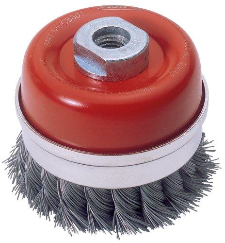 Draper 52632 Expert 80Mm X M14 Twist Knot Wire Cup Brush