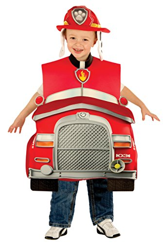 [Rubie's Costume Paw Patrol Marshall Child Costume, Toddler] (Paw Patrol Chase Toddler Child Costumes)