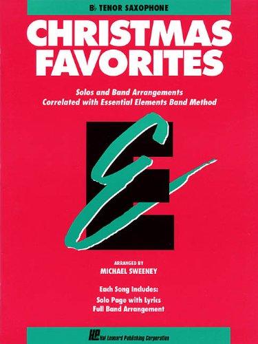 Essential Elements Christmas Favorites: Bb Tenor ()